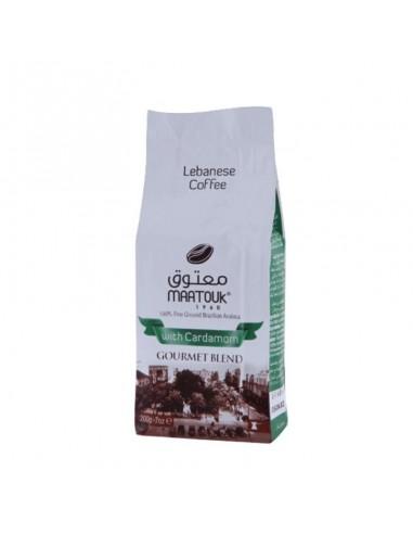 COFFEE WITH FLAVOR CARDAMOMO - 200 gr