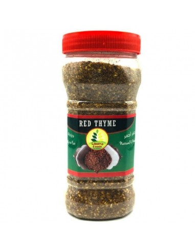 RED ZAATAR SPICES - 400 gr
