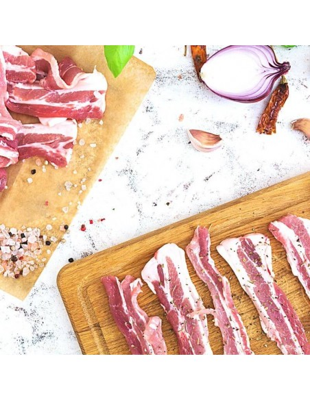 Bacon ternera Halal