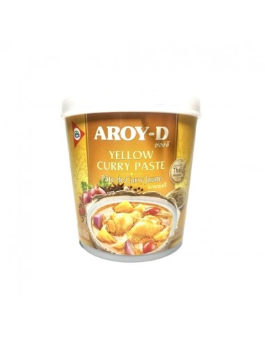 YELLOW CURRY PASTE THAI - 400 gr.