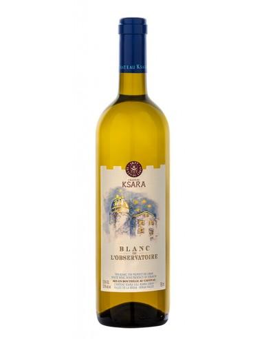 WHITE WINE BLANC DE L'OBSERVATORIE - KSARA - 750 ml