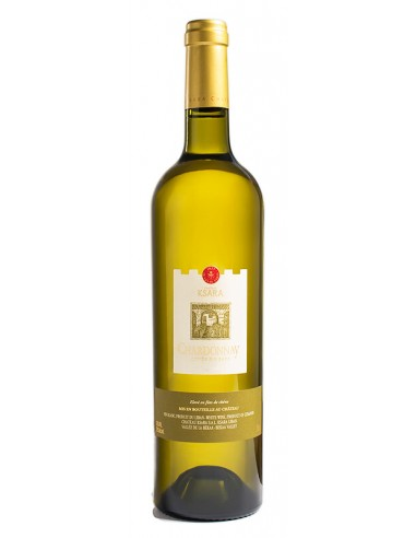 WHITE WINE CHARDONNAY - KSARA - 750 ml