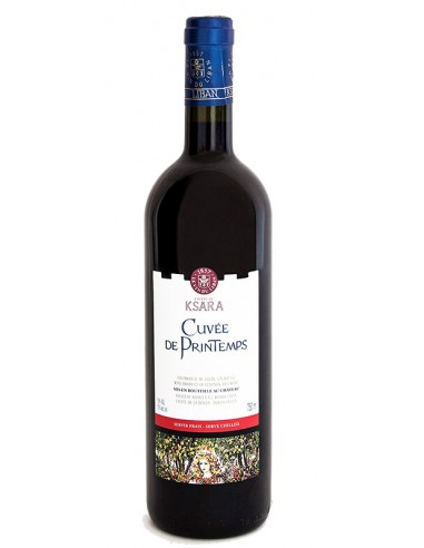 VINO TINTO CUVÉE DU PRINTEMPS - KSARA 750 ml