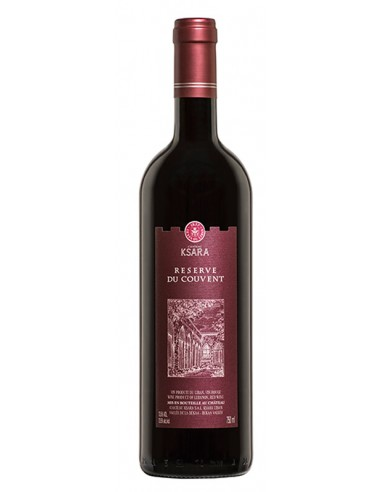 RED WINE RESERVE DE COUVENT - KSARA 750ml
