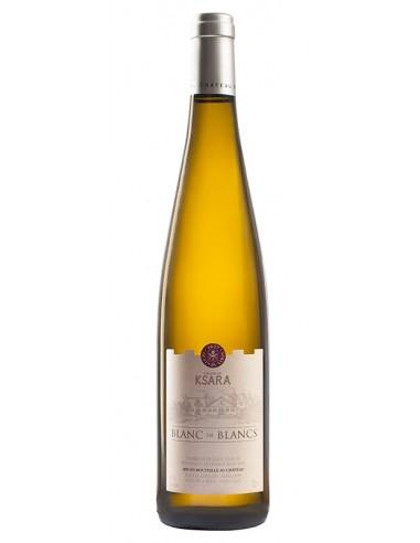 WHITE WINE BLANC DE BLANCS - KSARA 750 ml