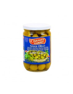 GREEN OLIVES - 600 gr